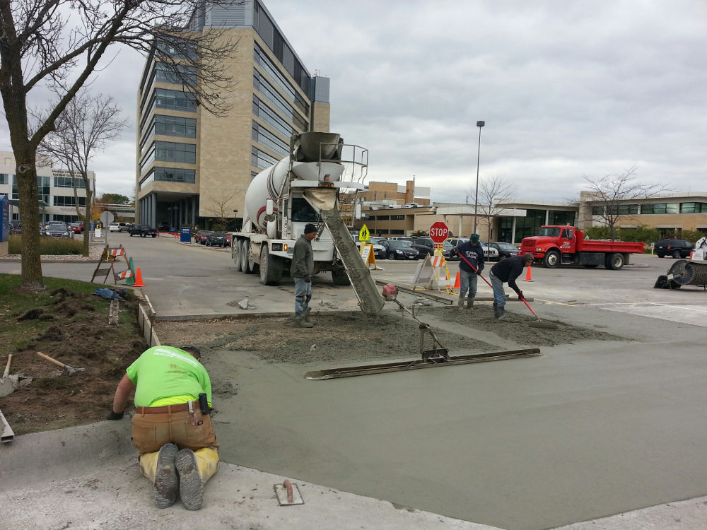 Parking Lot Repair AMC, Appleton Wisconsin
