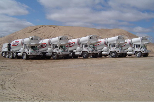 Carew Concrete Cement Trucks